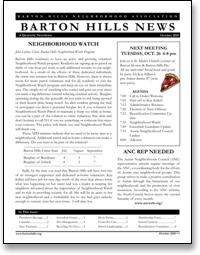 BHNA News October 2010