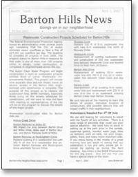 Jan 2007 BHNA Newsletter