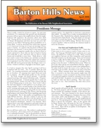 Apr 2008 BHNA Newsletter