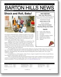 Jul 2009 BHNA Newsletter
