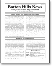 Jun 2007 BHNA Newsletter
