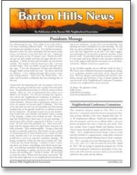 Oct 2008 BHNA Newsletter