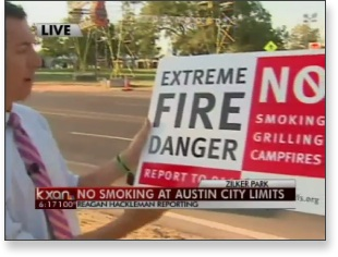 BHNA sign featured on KXAN